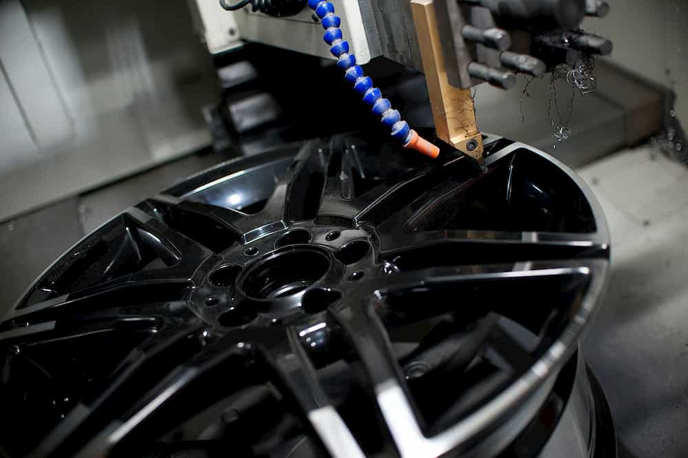 Diamond cutting wheel repair
