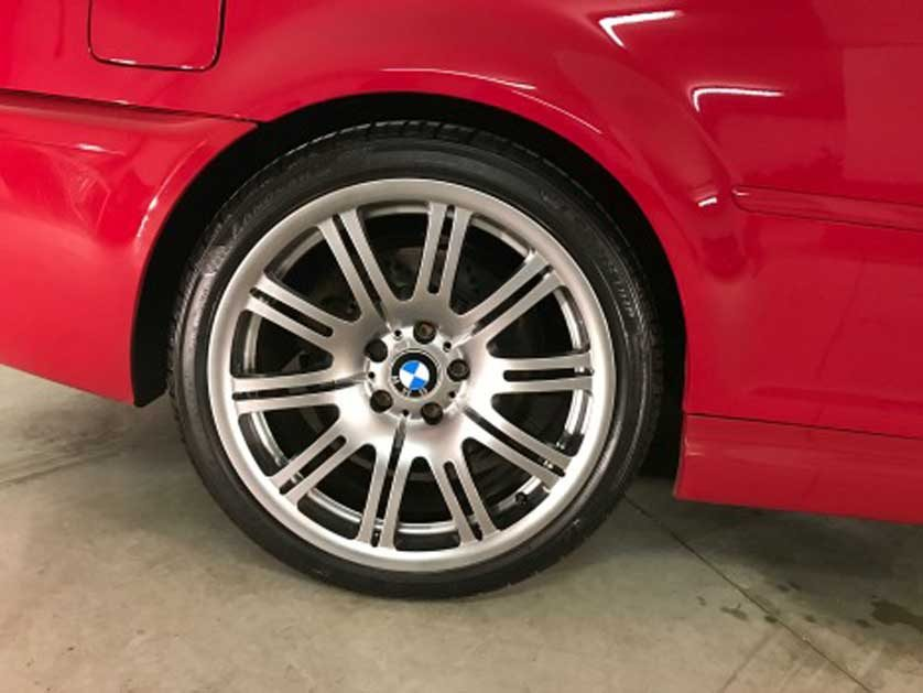 BMW Wheel Refurbishment Leeds