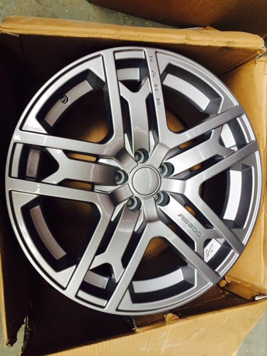 Khan alloy wheel refurbishment
